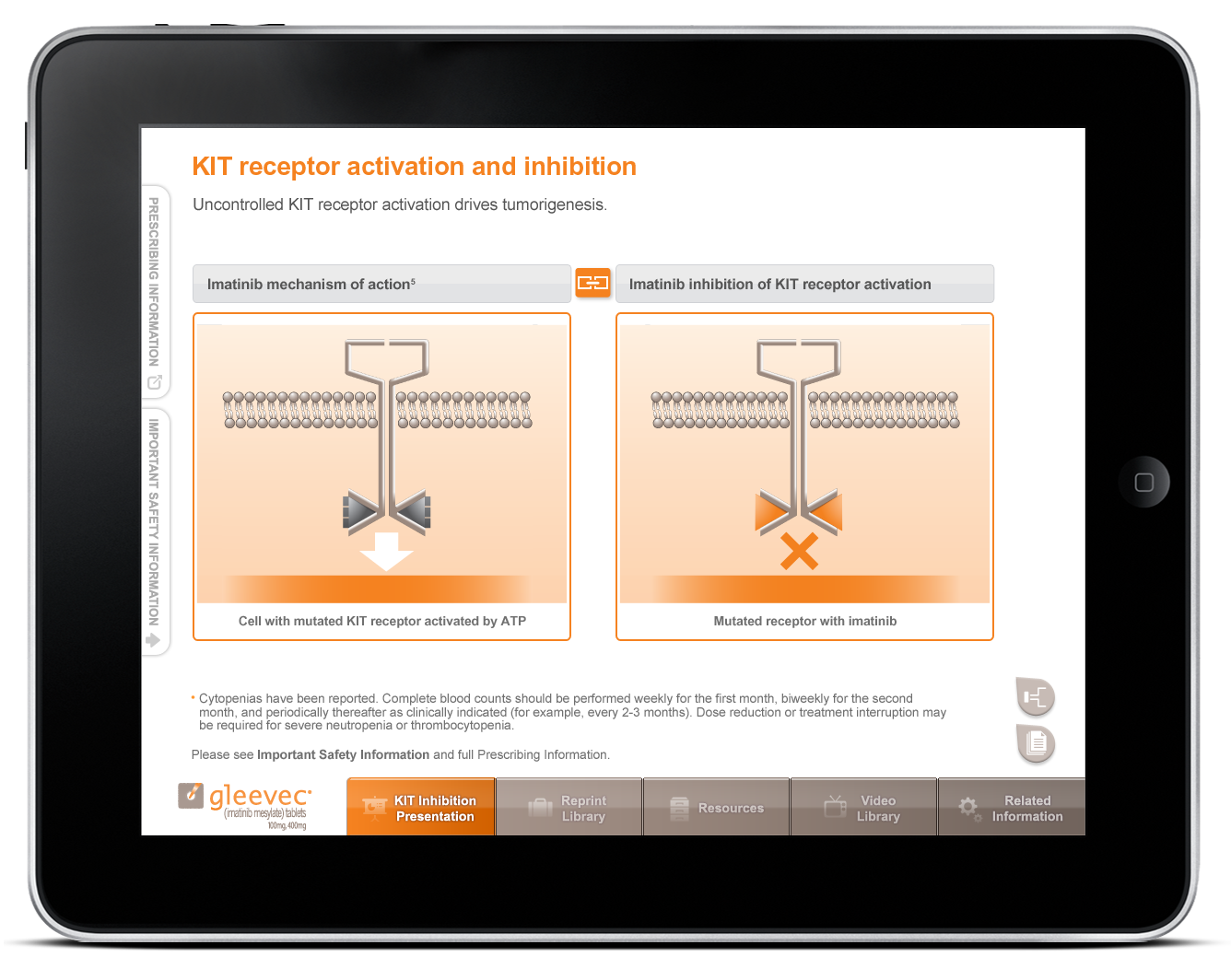 Pharmaceutical Sales Aid iPad App-3