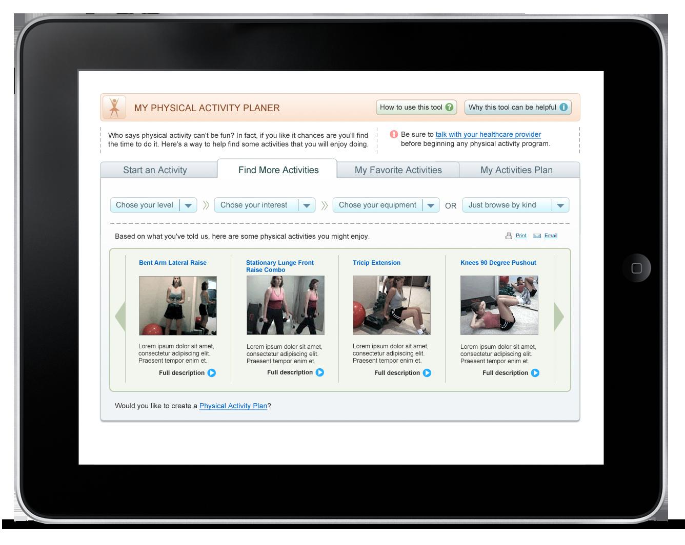 Activity Planner – Web Application-0