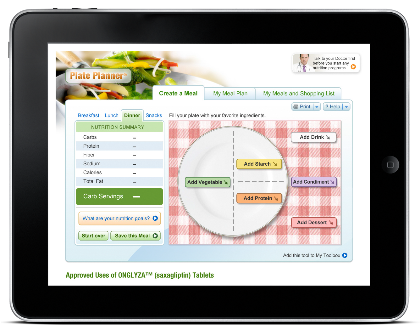 Plate Planner – Web Application-0