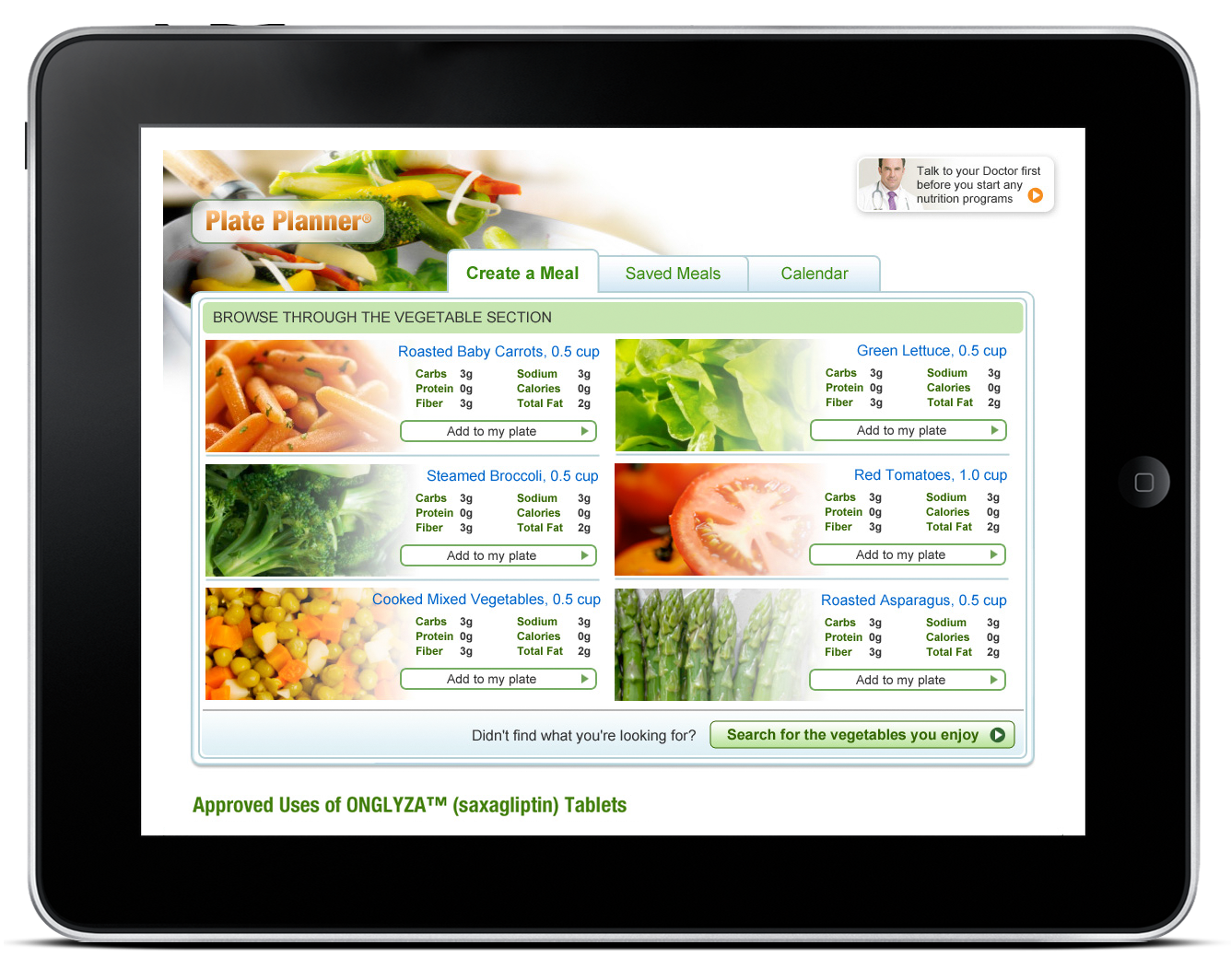 Plate Planner – Web Application-1