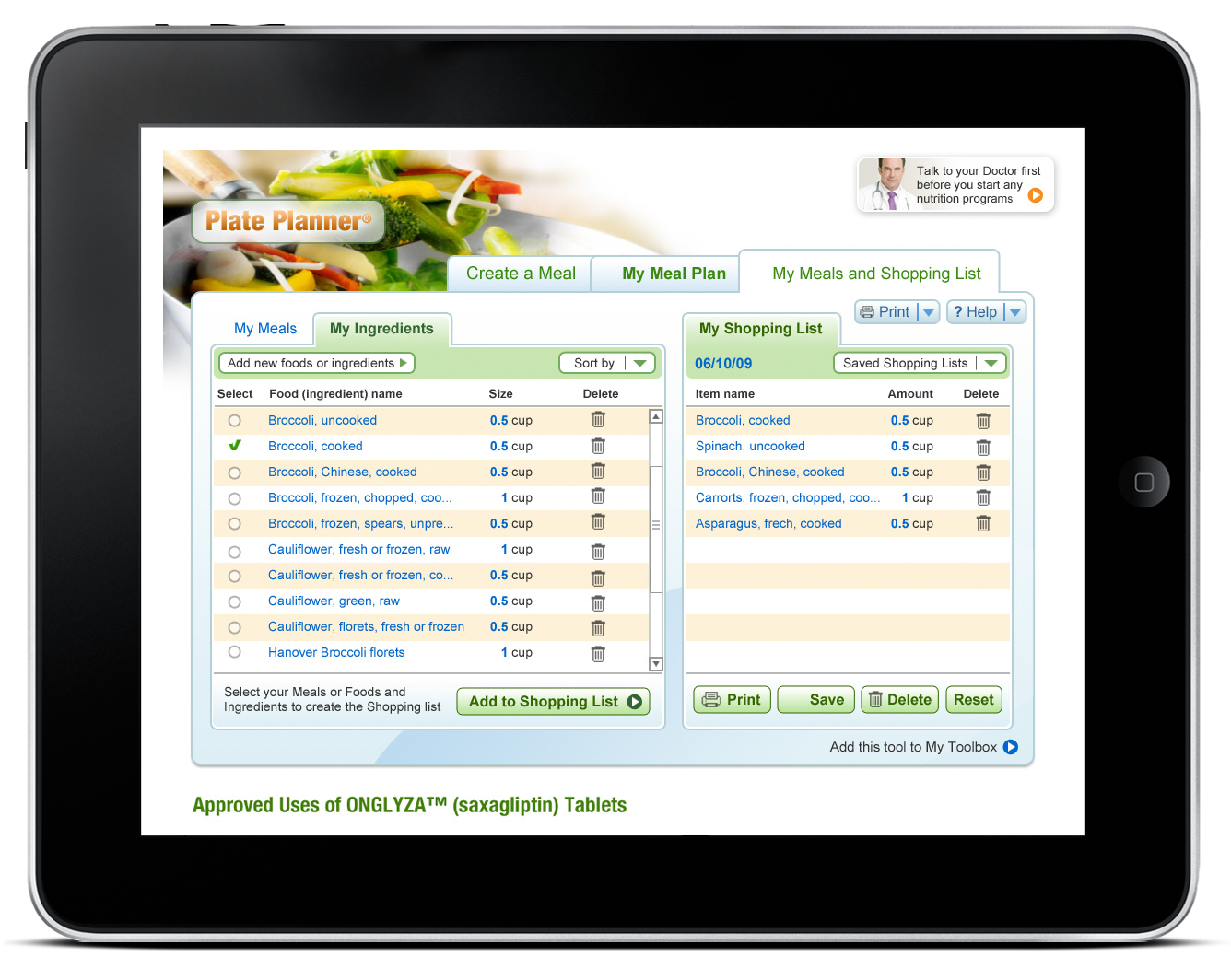 Plate Planner – Web Application-4