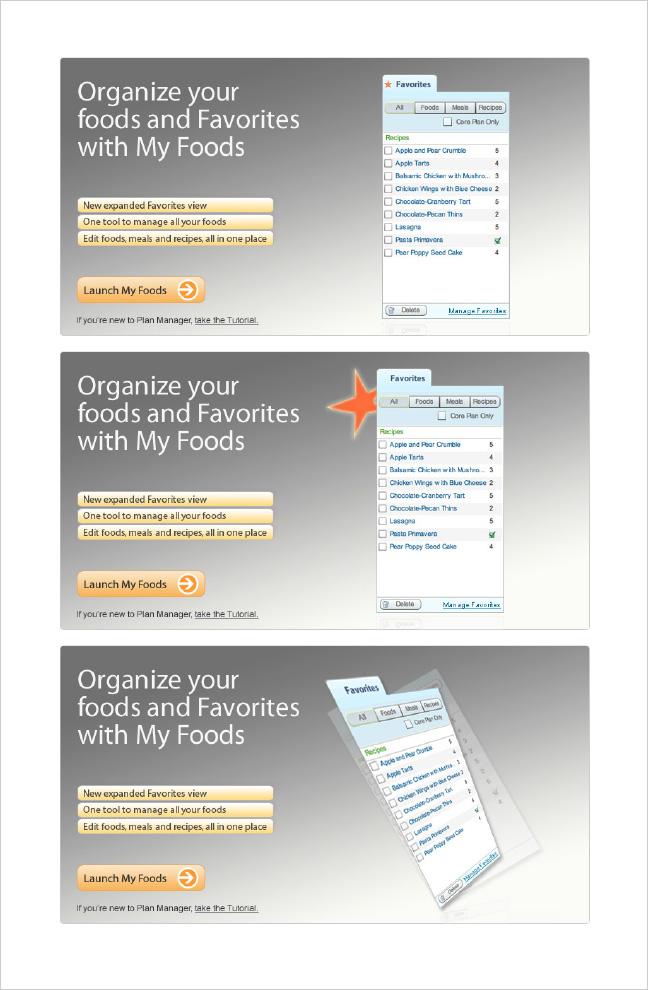Weight Watchers My Foods Web App-0