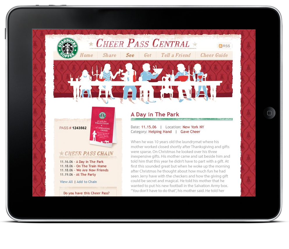 Starbucks Holiday Campaign Web Site-1