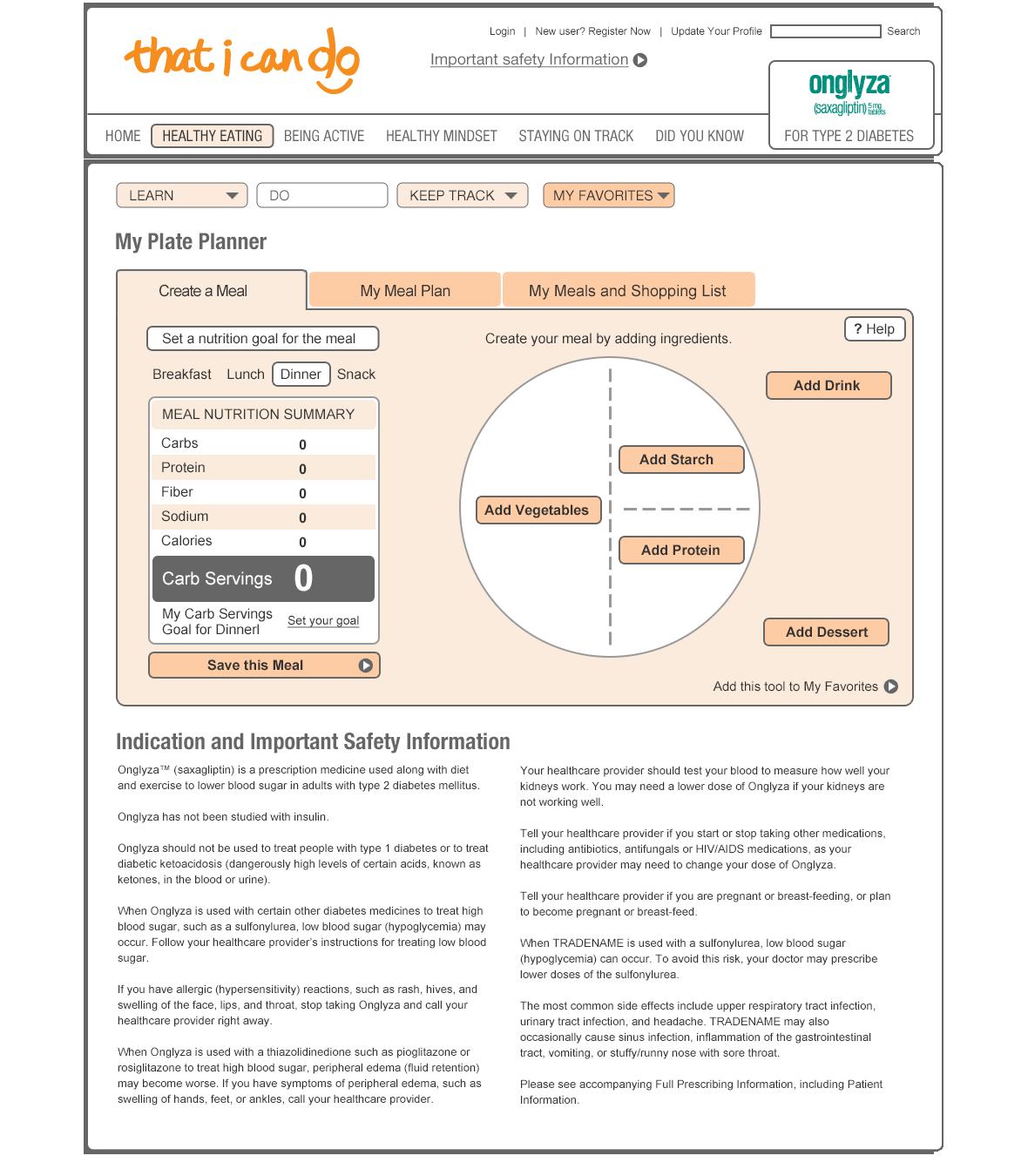 Plate Planner App User Testing Prototype-1