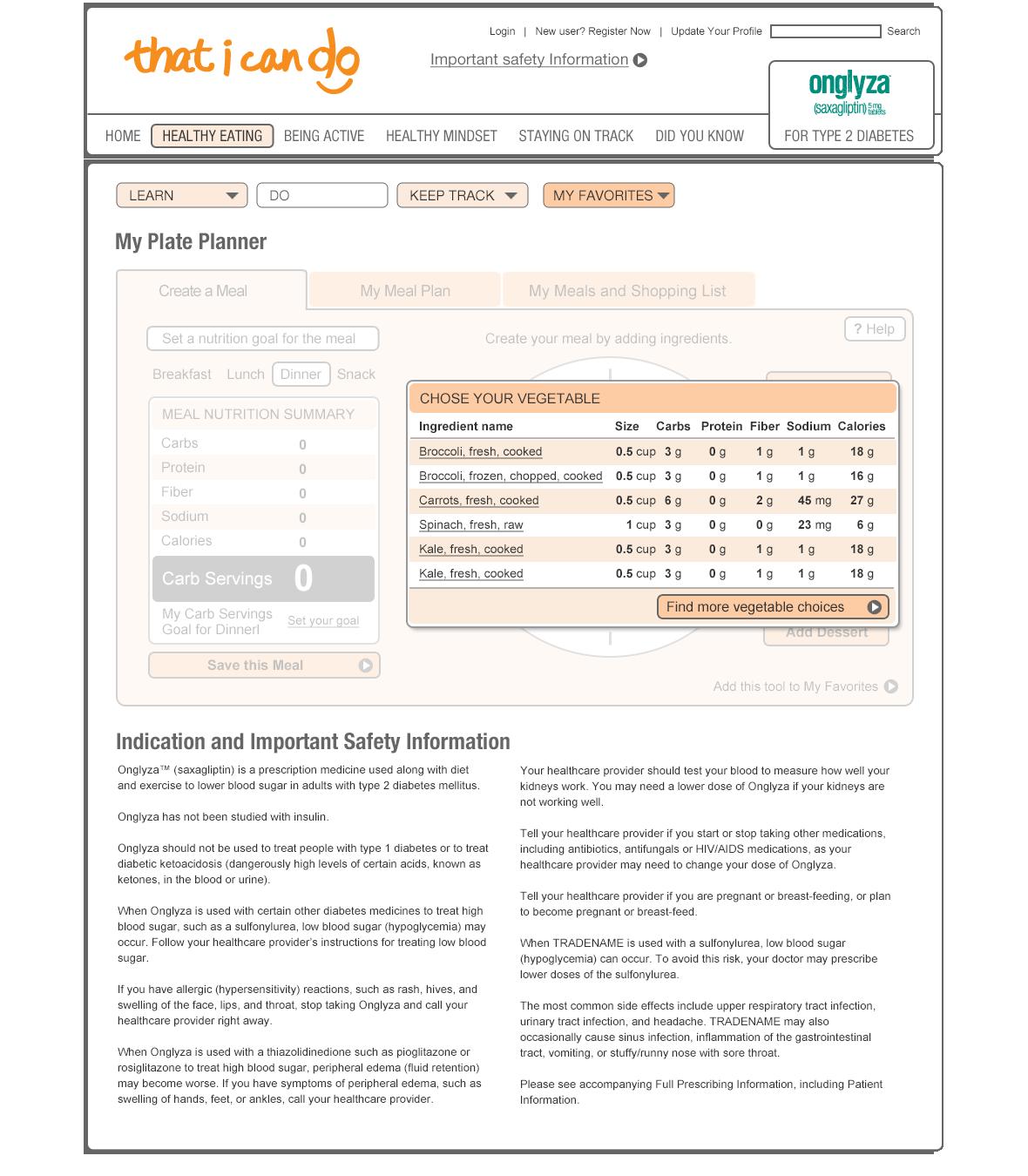 Plate Planner App User Testing Prototype-2