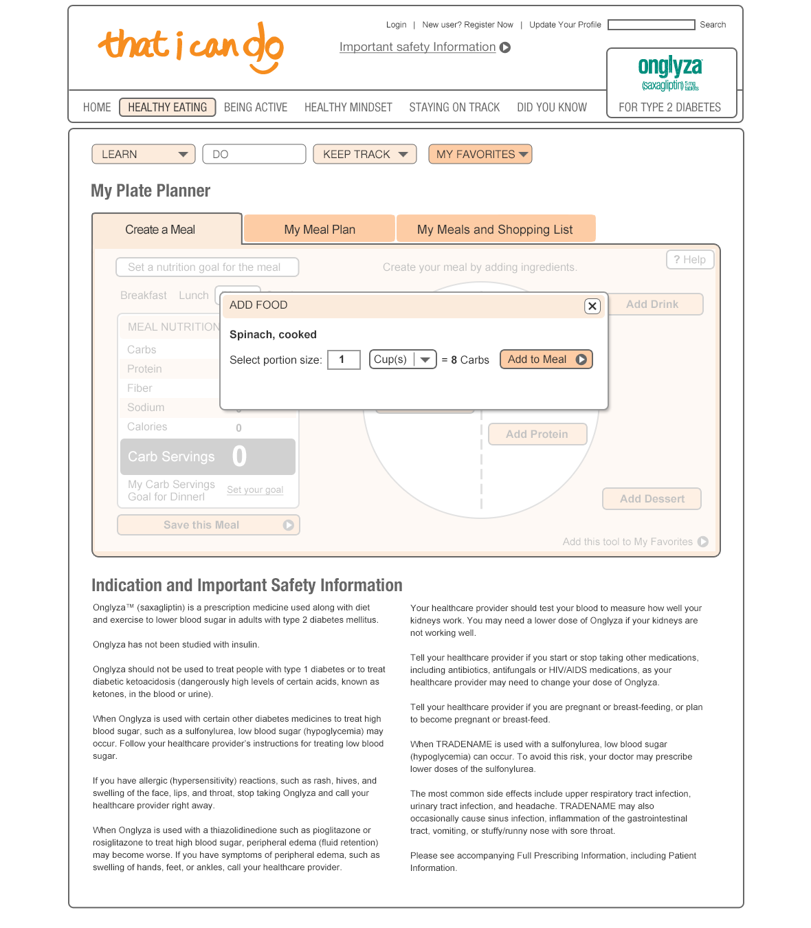 Plate Planner App User Testing Prototype-4